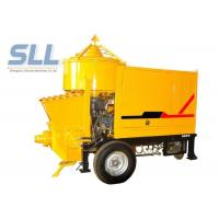 Quality PLC Control Cement Pumping Machine Cement Powder Pump For Mortar Easy Operate for sale
