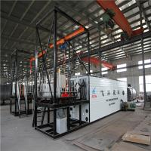 China Cuboid Shape Continuous Production Bitumen Drum Melter For Barrel Packing wholesale