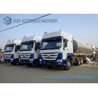 Custom 45000L Oil Tank Trailer 3 Axle , Diesel / Jet Chemical Tank Trailer