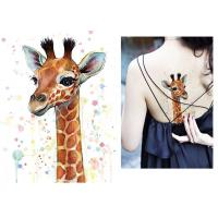 China Body Art Fake Temporary Tattoo Sticker , Temporary Sleeve Tattoos For Adults wholesale