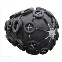 China Qingdao Floating Pneumatic Rubber Fender with Chain and Tyre Net wholesale
