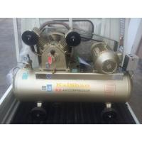 China Sigle Phase Reciprocating Industrial Air Compressor Belt Type 8bar 3hp / 2.2KW 2 Cylinder 220V wholesale