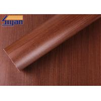 China Professional Maple PVC Decorative Foil , PVC Wood Film Free Sample wholesale