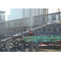 China HD200 Double Row Deck Type Modular Steel Bailey Bridge Hoisting Installation in Site wholesale