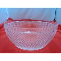 China Pineapple Shape Clear Acrylic Bowl For Candy , Vegetable wholesale