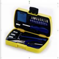 China 19 pcs mini tool set ,with pliers ,tape, hammer ,joint bar ,sockets . wholesale