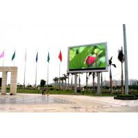 PH8mm Outdoor Full Color LED Display Waterproof With 15625 Pixel Density