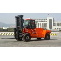 China Wear Resisting Diesel Forklift Truck , Automatic 2 Stage / 3 Satge Mast Forklift wholesale