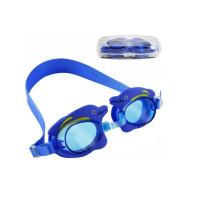 Non Slip Double Strap Kids Prescription Swim Goggles Customized Logo Printing