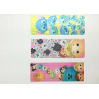 China Eco-friendly Kids 3D Lenticular Bookmarks With FAMA 0.6mm PET wholesale