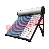 China Commercial Solar Water Heater Heat Pipe For Swimming Pool 300L Capacity on sale