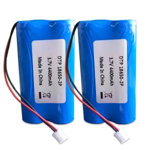 China 36x65MM 3.7V 4400mAh Li Ion 3.7 V Battery wholesale