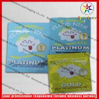 China Cloud 9 Herbal Incense Zip Plastic Bags With Zipper For Home wholesale