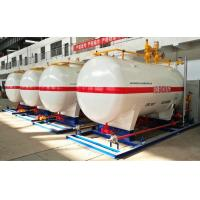 Buy cheap 10CBM / 10000 Liters LPG Gas Storage Tank With Dispenser Equipments And Scales from wholesalers