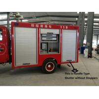 China New Aluminium Fire Fighting Truck Emergency Vehicles Roll-up Door on sale