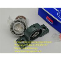 China Relubricable ductile NSK UCP201D1 Pillow Block Bearing Unit Felt Labyrinth Seals on sale