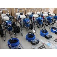 China Honda Engine Gas Powered Airless Paint Sprayer For Residential Interior Walls And Ceilings wholesale