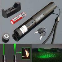 China Military Burning Beam Green Laser Pointer For Presentation Power Saving  303 wholesale