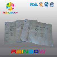 China Silvery LDPE Aluminum Foil Plastic Bag / Matte Printed Plastic Pouches Packaging wholesale