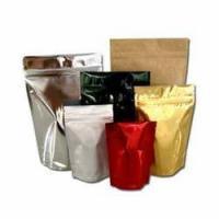 China Food grade Plastic Resealable Aluminum foil pouches packaging Stand Up Pouch for food wholesale