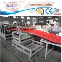China Polycarbonate Corrugated Roof Sheeting Machine Plastic Extrusion Line Width 1000mm wholesale
