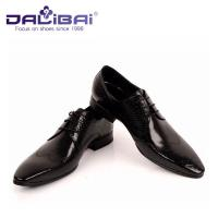 China DALIBAI Luxury Pointed Toe Men Leather Dress Shoes Classic Business Shoes wholesale