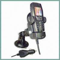 China Universal Mobile Phone Holder with Car Charger and Two Adjustable Side Arms wholesale