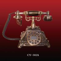 China antique telephone,telephone made with resin,CY-302A,white color telephone wholesale