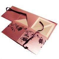 China Foil Stamping, Spot UV, Embossed Square Cardboard Cosmetic Gift box flat pack on sale