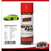 China High Gloss Car Paint Aerosol Cans / Scratch Resistant Quick Dry Spray Paint  wholesale