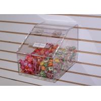 Quality Durable Clear Acrylic Candy Display Cases With Scoop For Candies for sale