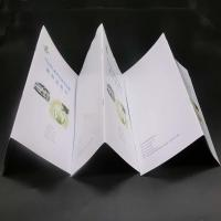 China Offset Paper Saddle Stitched Booklet With Glossy / Matte Lamination on sale