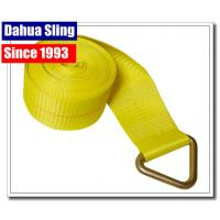 """China 5670 Lb Winch Extension Strap With Delta Ring Assembly 4"""" X 27"""" OEM Avaliable wholesale"""