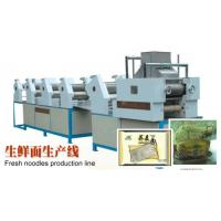 Quality Fresh Noodles Manufacturing Machine , High Efficiency Automatic Chowmein Machine for sale