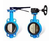 China Marine Centric Manual Operated Wafer Butterfly Valve wholesale