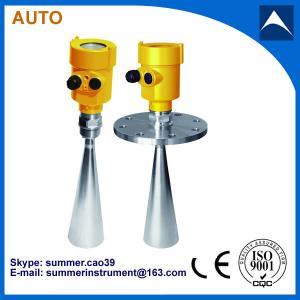 Buy cheap liquid water tank radar level meter sensor gauge transmitter made in china from wholesalers