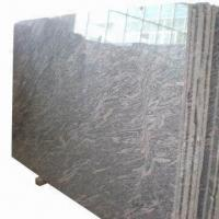 China Granite Slab/Tiles with Polished, Honed and Bush-hammered Finishes wholesale