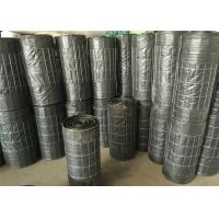 China Galvanized 4x4 welded wire mesh backed silt fence , welded wire mesh roll anti silt wholesale