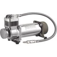 China Hardmount Heavy Duty Air Ride Suspension Compressor 12V Chrome 150 PSI wholesale