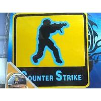 China Robot Car Sticker (counter strike) wholesale