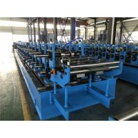 China Full Auto Top Hat Roll Forming Machine With Post Cutting System / PLC Control wholesale
