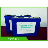 China No Break Rechargeable Lifepo4 Battery Lithium Ion TUV/ UN38.3 3.2V 50Ah wholesale
