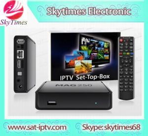 China MAG250 IPTV Linux IPTV MAG 250 SMART TV BOX wholesale