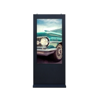 China IP65 ST-43 Outdoor LCD Advertising Display 7200rmp Infrared Double Touch wholesale