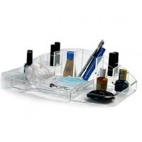 China Cosmetic Box Acrylic Organizer With Beautiful Shape wholesale