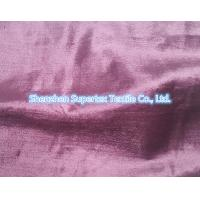 China Rayon Cotton Velvet Fabric Like Silk Effect With Slub In Reactive Solid Dyed wholesale