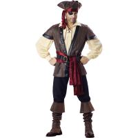 China 2016 costumes wholesale high quality fancy dress carnival sexy costumes for halloween party Rustic Pirate wholesale