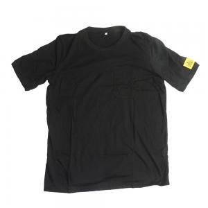 China CE SGS 80 Times Washing Black ESD Polo Shirts wholesale