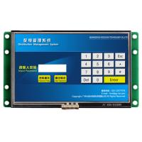 China TFT LCD Screen Module Embedded HMI Panel PC With Driver & CPU & RS232/ USB Port on sale