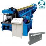 China Hydraulic cutting Galvanized Steel C U Z Channel Roll Forming Machine for 3mm wholesale